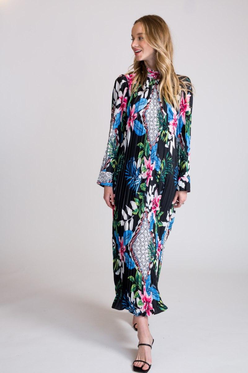 שמלת פליסה רייצ'ל