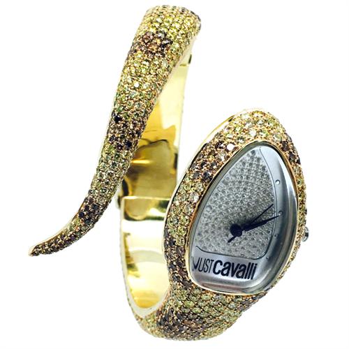שעון נשים עבודת יד זהב 14K יהלומים MY041652000XX