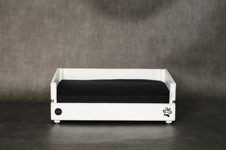 מיטה לכלב - דינגו M לבן ווש
