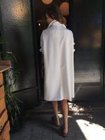 שמלת ברוקלין לבן פסים