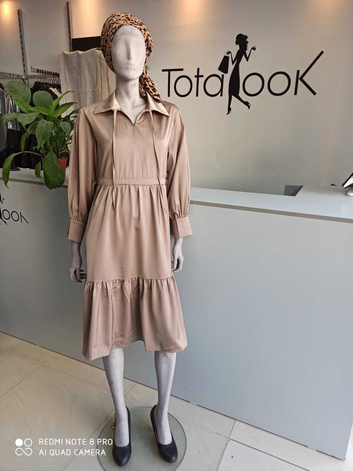 שמלת טופז כאמל