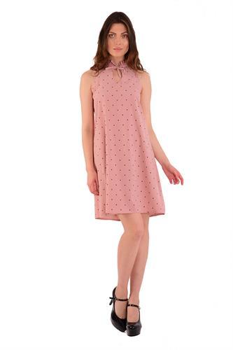 שמלת קייטלין ורוד