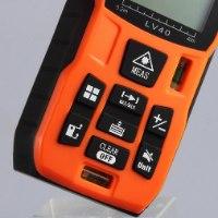 מד לייזר מקצועי למדידת בתים,שטח,נפח ועוד של חברת lomvum