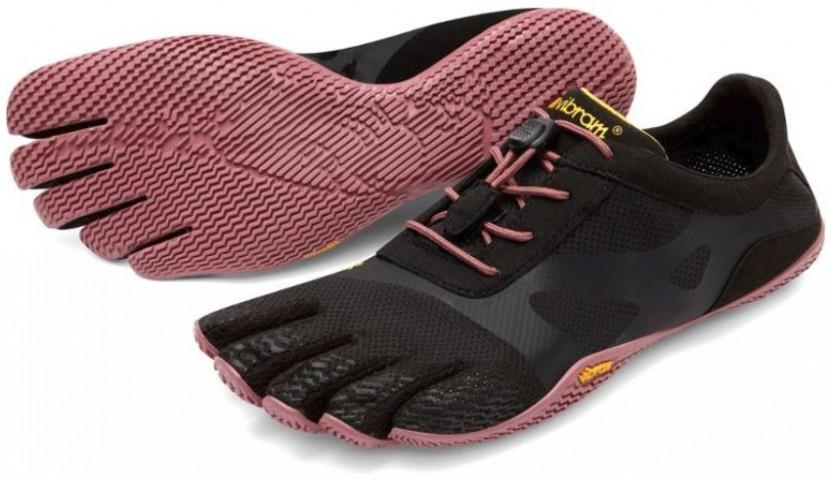 נעלי הליכה וריצה יחפה  נשים VIBRAM FIVE FINGER KSO EVO