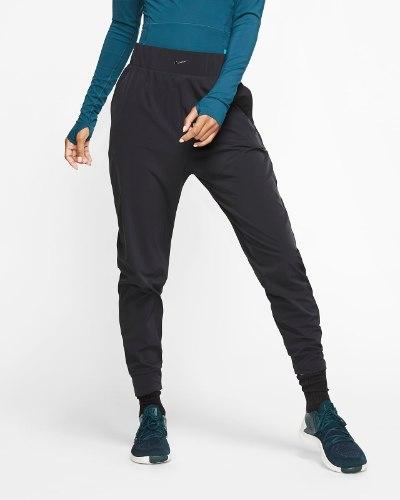 NIKE BLISS מכנסי אימון דרייפיט שחור מלא