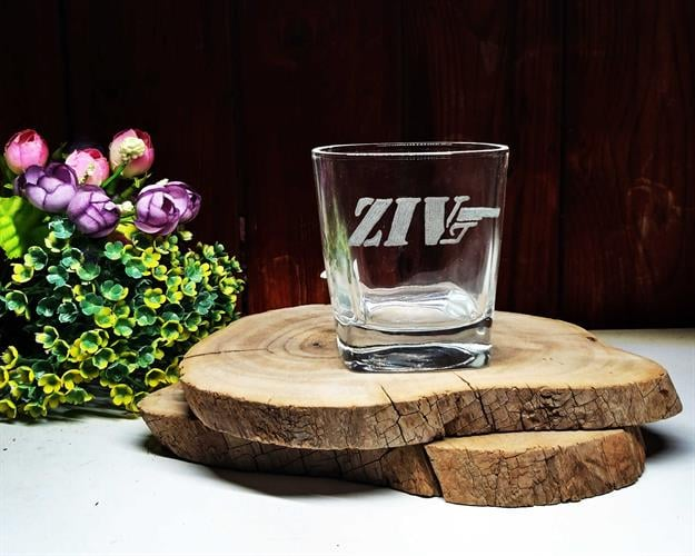 זוג וויסקי סטייל ג'יימס בונד | 2 כוסות