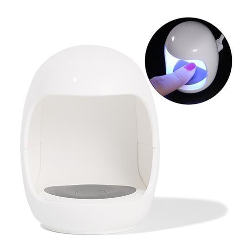 מנורת UV ו- LED אישית, קומפקטית ומקצועית 3V