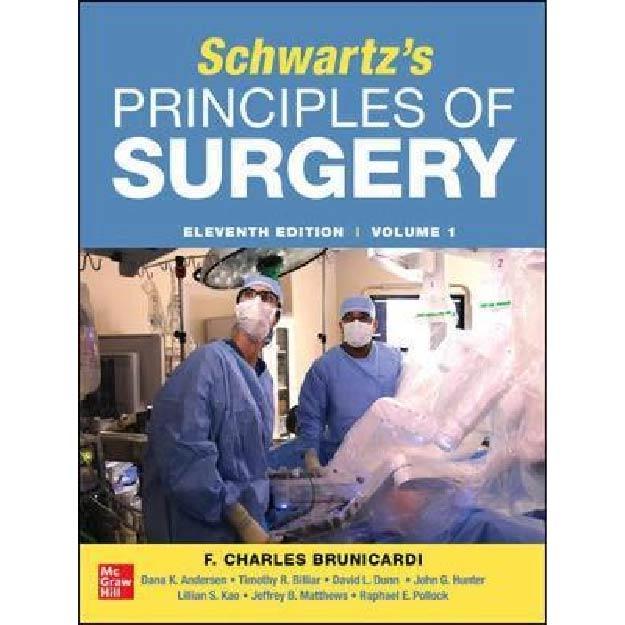 SCHWARTZ'S PRINCIPLES OF SURGERY 2-volume set IE