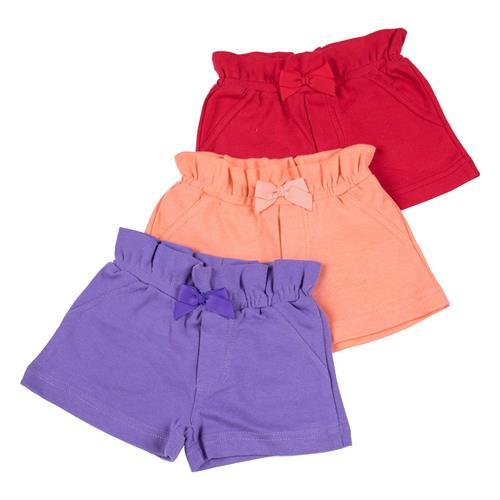 שלישיית מכנסיים 4453 אדום - כתום - סגול