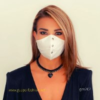 face mask cotton white