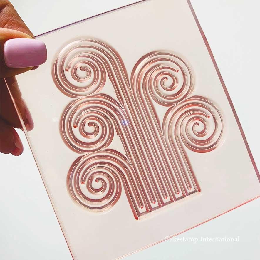 תבנית  קישוט מזרקה סיומת לקשת  קשת ליצירה בשוקולד   תבנית קשת לעוגות מהאגדות חדש אתי דבש