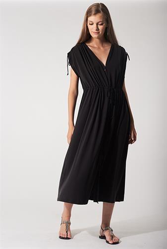 שמלת אנדריאה שחורה