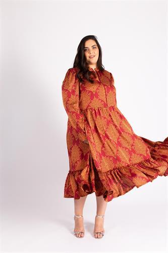שמלת ג'ייד אדומה