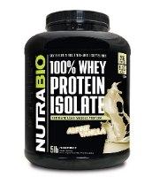 אבקת חלבון NUTRABIO 100% PROTEIN ISOLATE