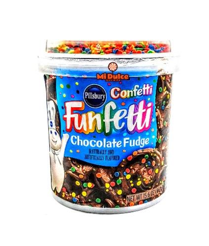 ציפוי לעוגה! שוקולד פאדג' Funfetti