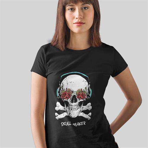 חולצת טי - Skull Maker