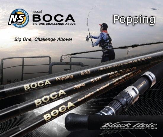 Boca popping