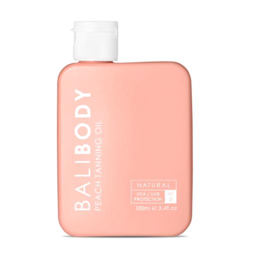 Bali Body - שמן שיזוף אפרסק SPF6
