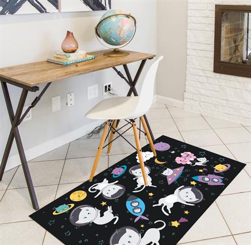 שטיח PVC | דגם חתולים