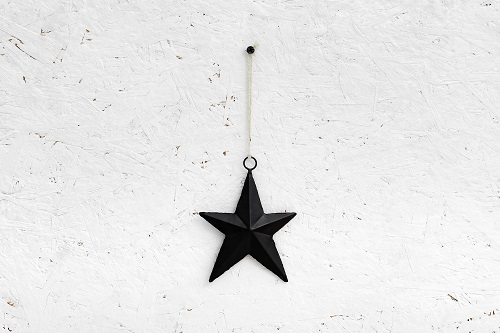 כוכב ברזל - שחור