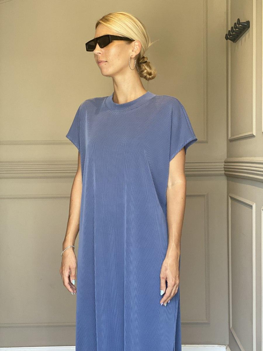 שמלת NAM - כחול ג'ינס