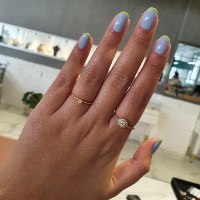 טבעת יהלום 0.12 קראט