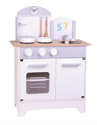 מטבח לבן/אפור