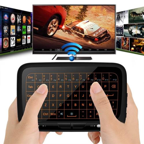 2 ב- 1 מקלדת + עכבר במסך מגע מתאים לכל המחשבים ומסכי הטלוויזיה