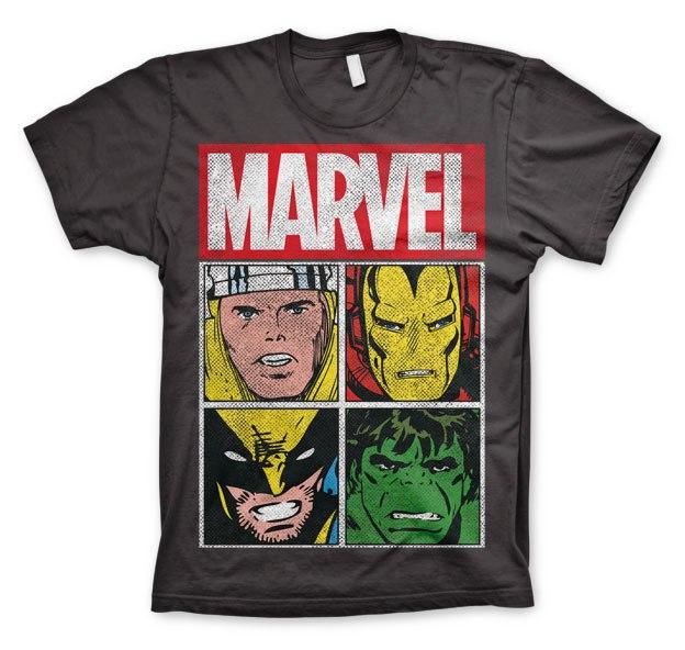 רביעיית גיבורי מארוול - אפור כהה