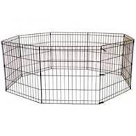 """גדר אילוף לכלבים 8 צלעות של 61 ס""""מ אורך על 76 ס""""מ גובהה"""