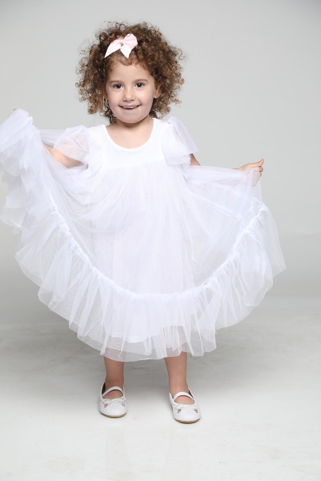 שמלת טול חגיגית