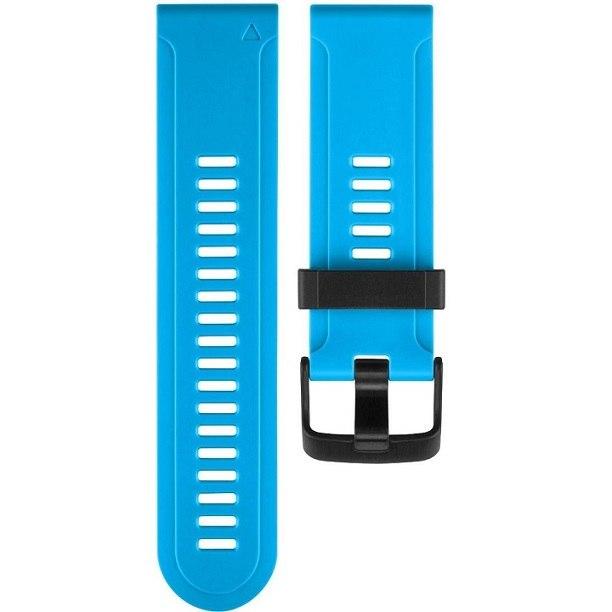 רצועה סיליקון מקורית לשעון גרמין Garmin Fenix 3 כחול