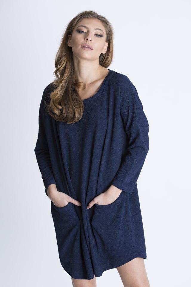 שמלת גארד כחול