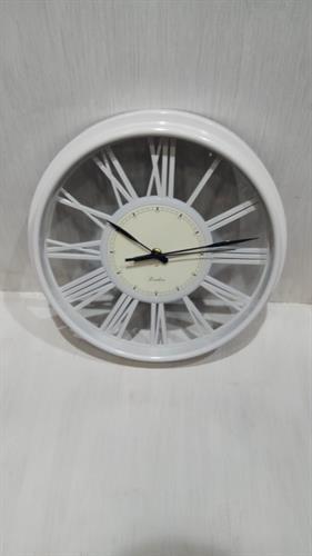 שעון קיר שחור/ לבן MC1671