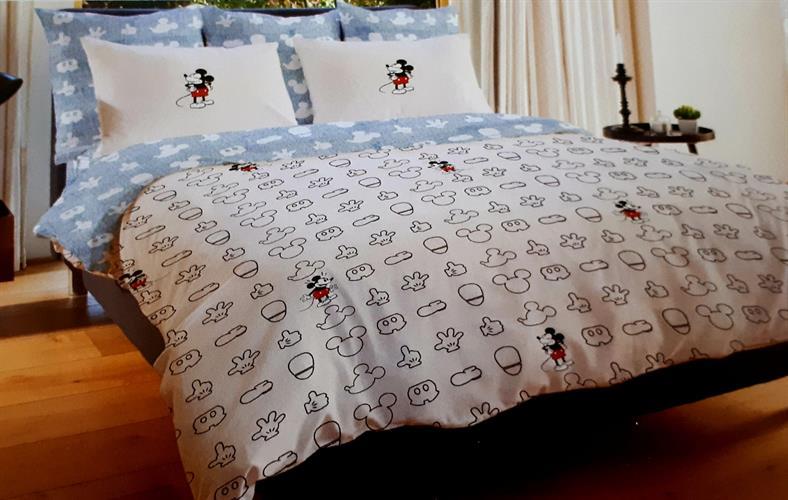 סט מלא מיטה וחצי פלנל של ורדינון מיקי מאוס