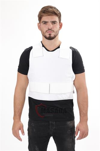 Civilian bulletproof vest/ Vip vest white