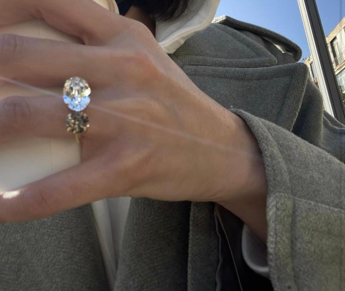 טבעת אנאבל זהב