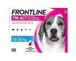 """פרונטליין טרי אקט לכלב במשקל 10-20 ק""""ג - FRONTLINE TRI ACT 10-20KG"""