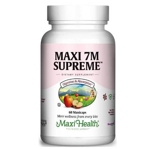 -- פרוביוטיקה 7M -- מכיל 120 קפסולות, Maxi Health