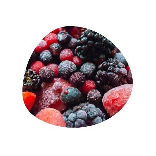 מיקס פירות יער קפואים 1 קילו