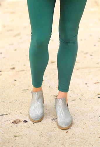 טייץ לייקרה בצבע ירוק