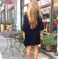 שמלת לינדה שחורה
