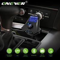 משדר FM-דגם M7S המקצועי לרכב עם בלוטוס+דיבורית+הטענת ניידים
