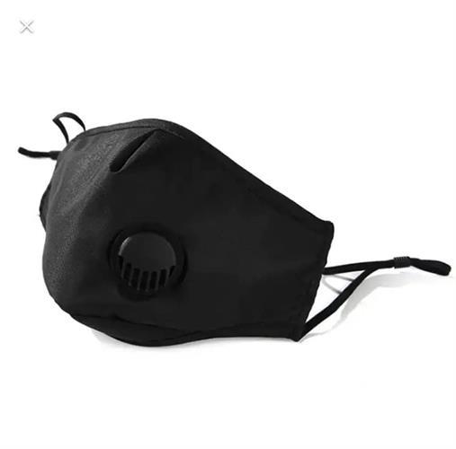 5 מסכות פנים נשמיות רב פעמיות עם 2 סננים נשטפים לסינון וירוסים כימיקלים ואבק בתקן PM2.5  משלוח מהיר!