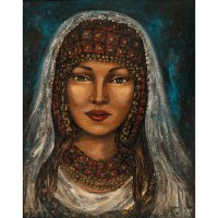 כלה בבגדים מסורתיים (סדרת מסע שורשים לתוניס)
