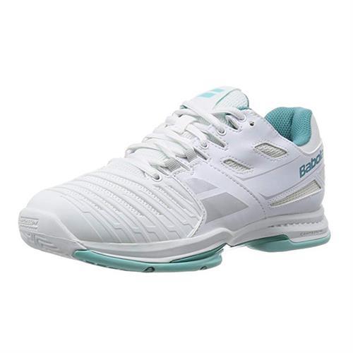 נעל טניס נשים בבולט Babolat SFX Lady White Blue