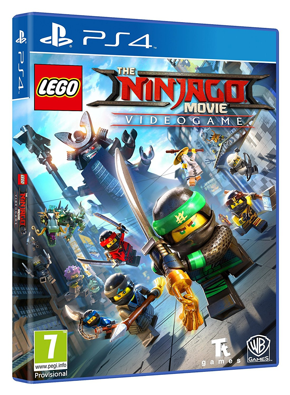 LEGO NINJAGO Movie Video Game PS4