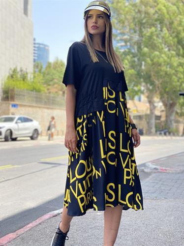 שמלת כיתוב