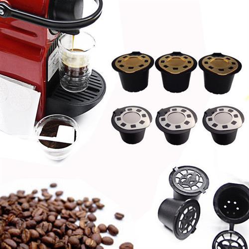 קפסולה רב פעמית מתאימה לרוב מכונות הקפה