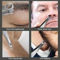 פינצטה לקצירת שיער ללא כאב
